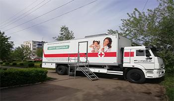 Прием специалистов РДКБ в Сарапульском районе